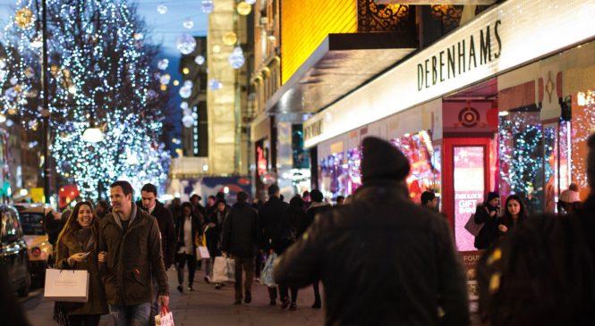 Debenhams half-year profits slump by 85%