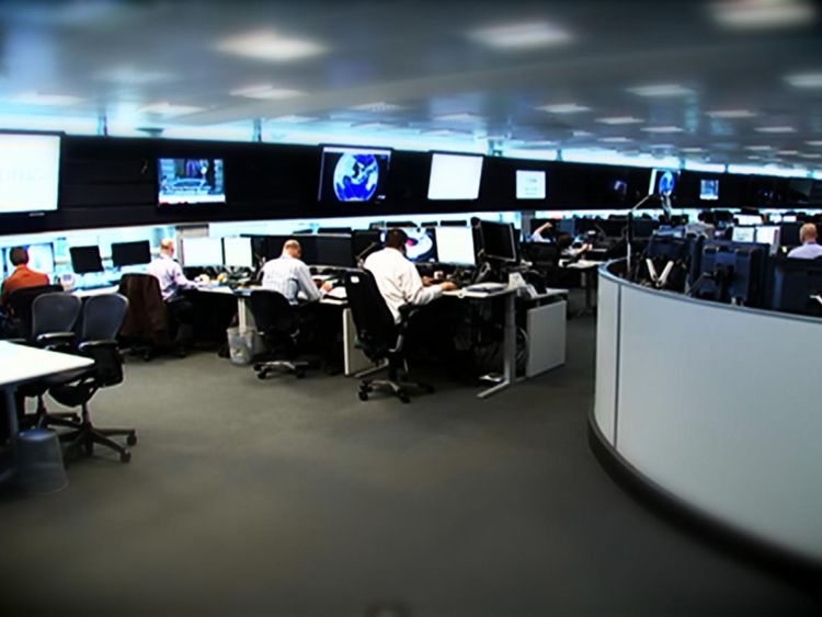 Sky News was granted unprecedented access to GCHQ's headquarters