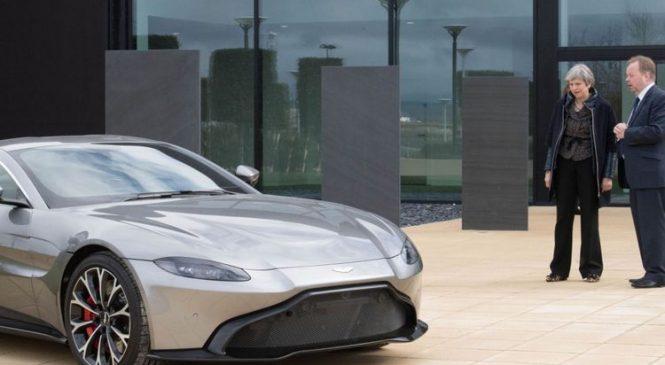 Bank trio to lead £4bn Aston Martin float