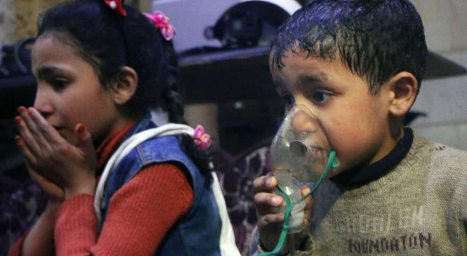 Western leaders mull joint response to suspected Syrian chemical attack