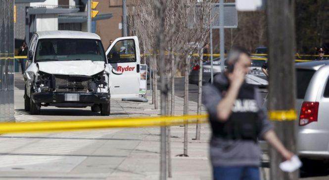 9 dead after van hits pedestrians, driver in custody: Police