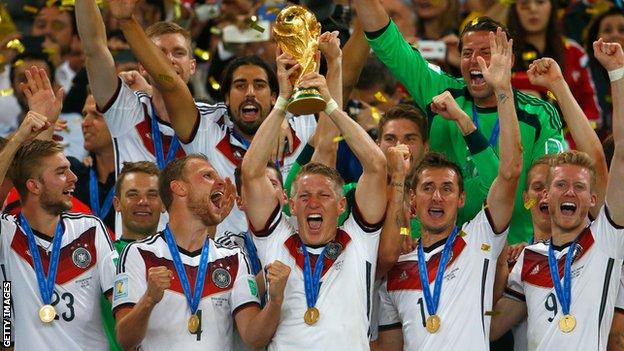 Germany won the 2014 World Cup