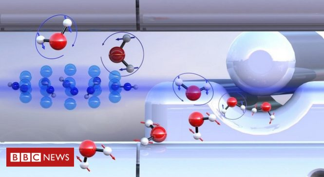 Two different forms of water isolated for first time