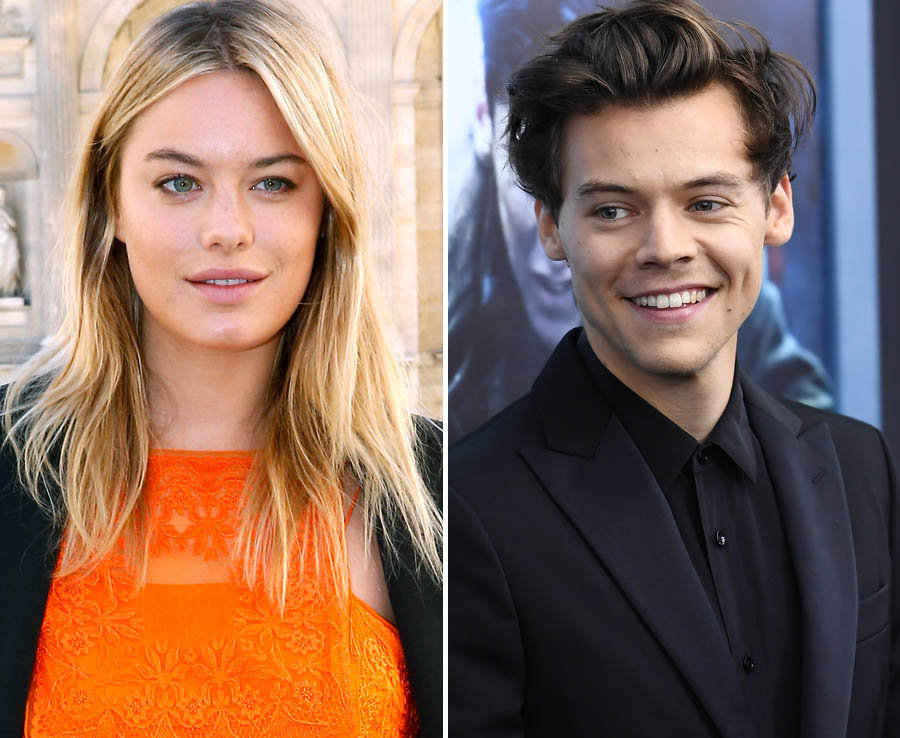 Harry Styles and Victoria's Secret model Camille Rowe have reported that they are in the early stages of their relationship