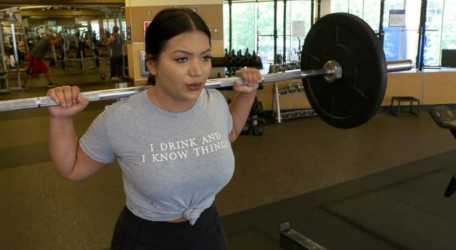 WATCH: Inside the #GainingWeightIsCool fitness trend