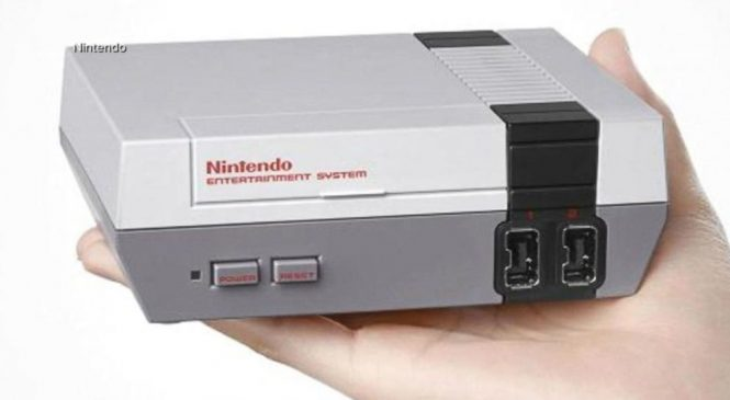 WATCH: Nintendo to re-release its NES Classic Edition console