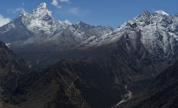 69-year-old double amputee climbs Everest after decades-long mission