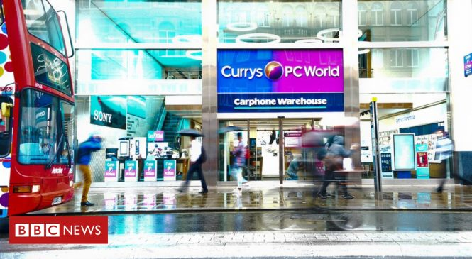 Dixons Carphone shares dive on profits warning