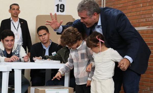 Colombians to elect new president in first vote since FARC deal