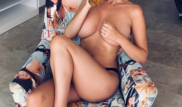 Rhian Sugden's TOPLESS snap breaks the internet