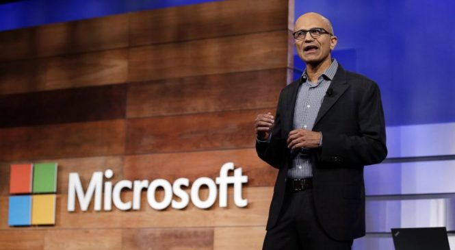 Cloud computing, artificial intelligence on Microsoft agenda