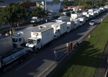 Truckers' strike leads to fuel shortages in Brazil