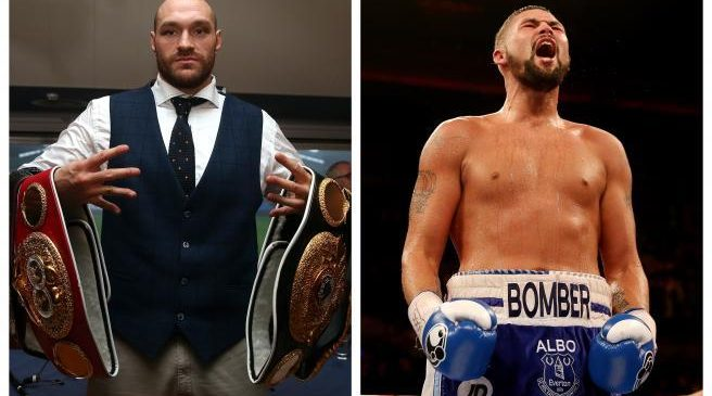 'I'll punch your face in for you' – Tyson Fury aims foul-mouthed tirade on Instagram at British rival Tony Bellew