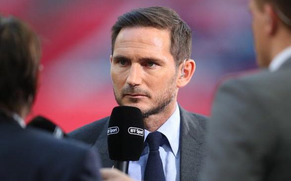 Harry Redknapp backs Frank Lampard for success as Derby manager was 'best professional and best trainer I ever came across'