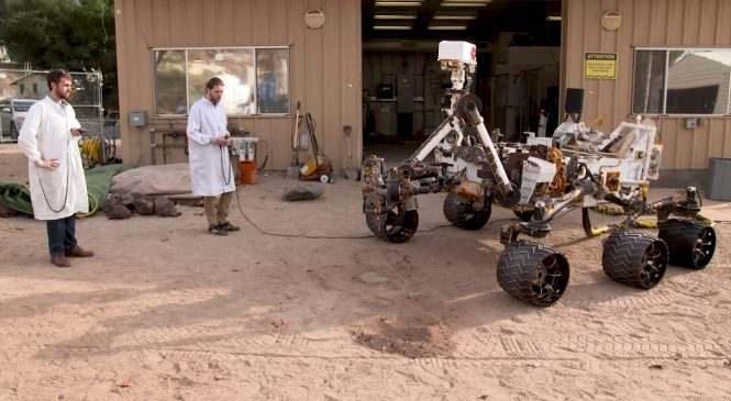 NASA engineers teach Mars rover Curiosity to drill again