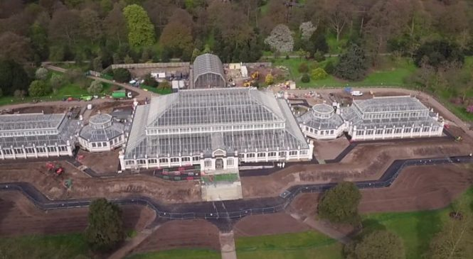 Kew Gardens: World's largest glasshouse reopens