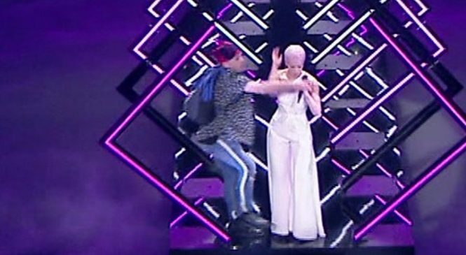 SuRie stage invader released on bail