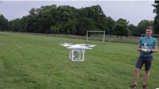 Drones over 250g must be registered with government