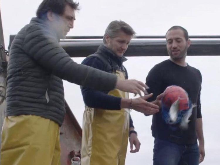Spanish fishermen