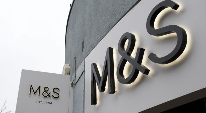 M&S closure plans trigger £300m charge