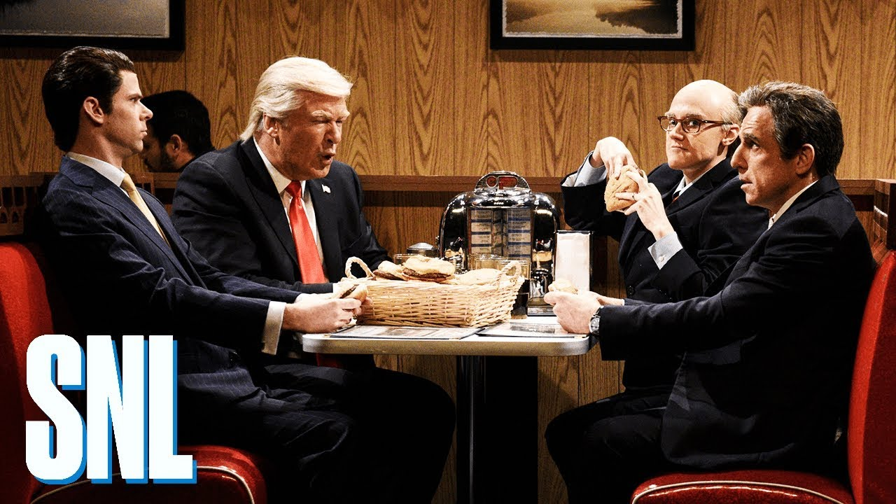 'SNL' sketch puts President Trump, legal team in 'Sopranos' finale