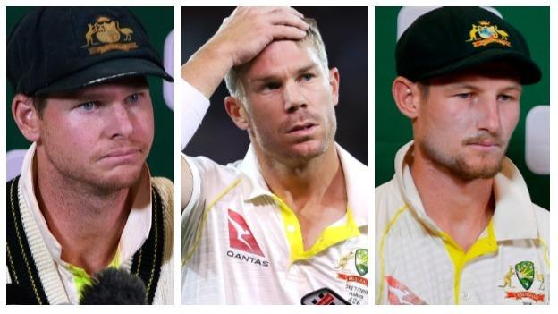 Steve Smith, David Warner, Cameron Bancroft