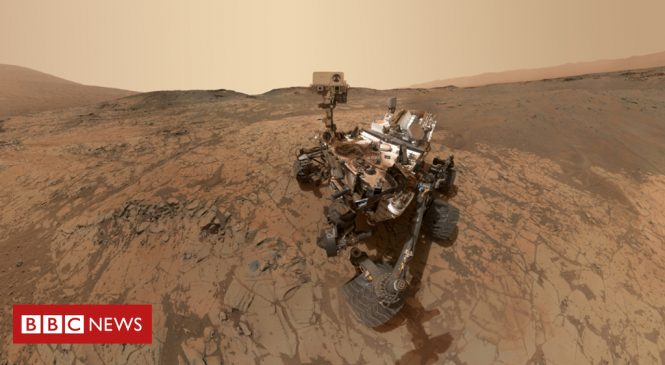 Curiosity rover sees seasonal Mars methane swing