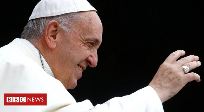 Climate change: Pope urges action on clean energy