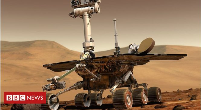 Mars Opportunity: Rover 'should ride out storm'