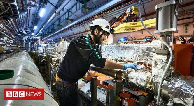 Work starts to upgrade Large Hadron Collider