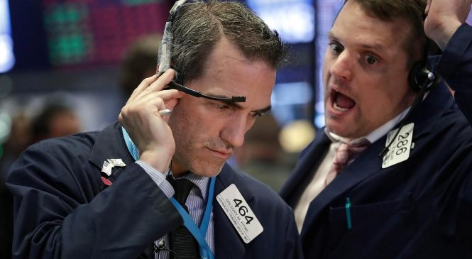 Investors fret about a trade war, but they aren't fleeing the stock market