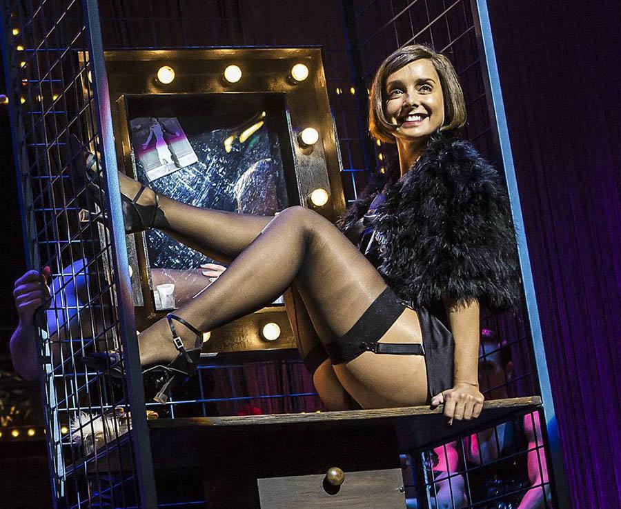 Louise Redknapp stars in Cabaret