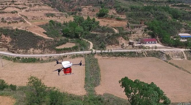 How e-commerce with drone delivery is taking flight in China