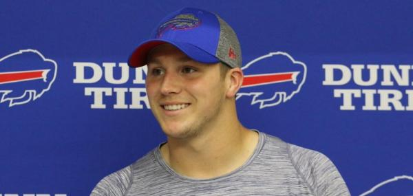 Buffalo Bills QB Josh Allen to receive first-team reps at minicamp