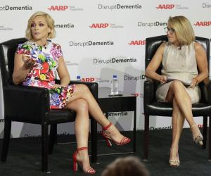In photos: Jane Krakowski, Katie Couric discuss dementia at AARP event