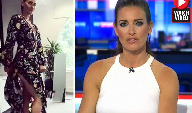 Kirsty Gallacher treats fans to flesh-flashing display after leaving Sky Sports News