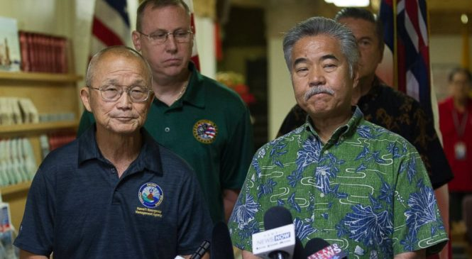 Workers of Hawaii agency that sent false alert seen sleeping