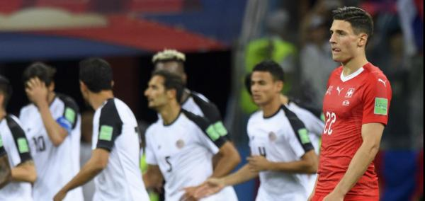World Cup: Switzerland ties Costa Rica; knockout round next