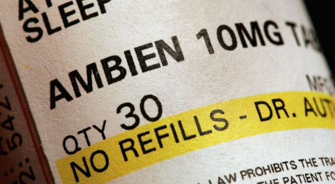What is Ambien and what are its known side effects?