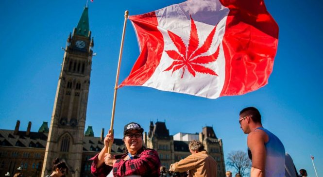 Canada becomes 2nd country to fully legalize marijuana