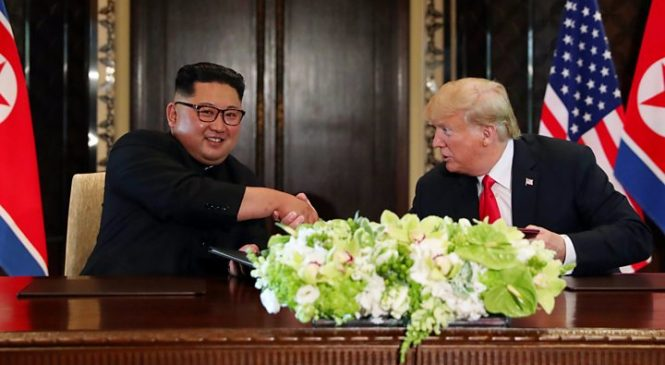 Trump Kim summit: US president hails deal after historic summit