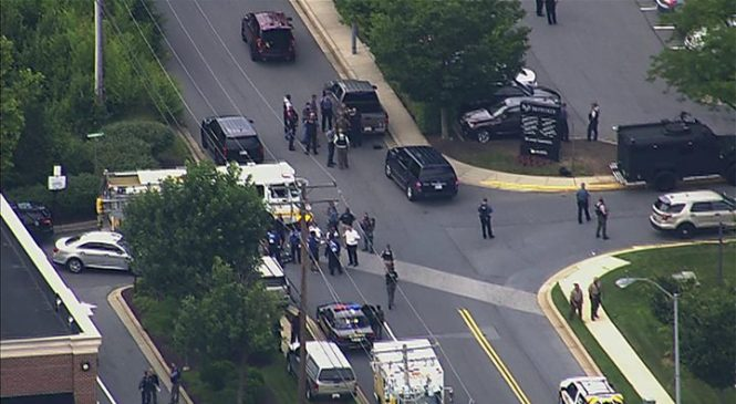 Annapolis shooting: Five killed in attack on US newspaper