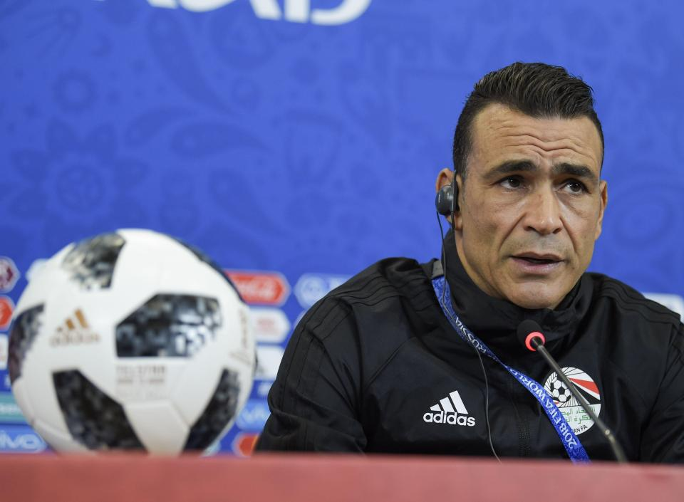 Egypt goalkeeper Essam El-Hadary could break a record on Monday afternoon.