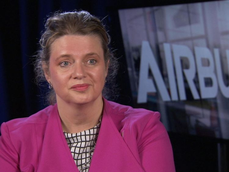 Airbus senior vice president Katherine Bennett