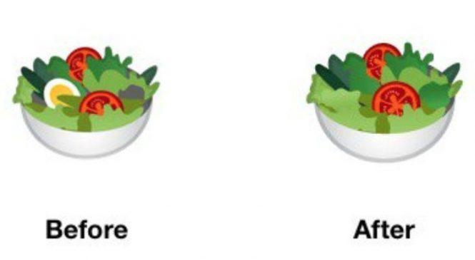 Google makes salad emoji suitable for vegans