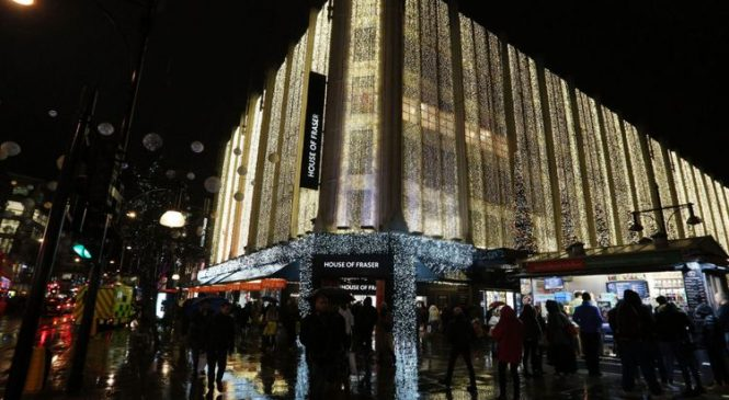 House of Fraser rescue plan to cost 6,000 jobs