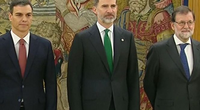Sanchez sworn in as Spanish PM amid corruption scandal