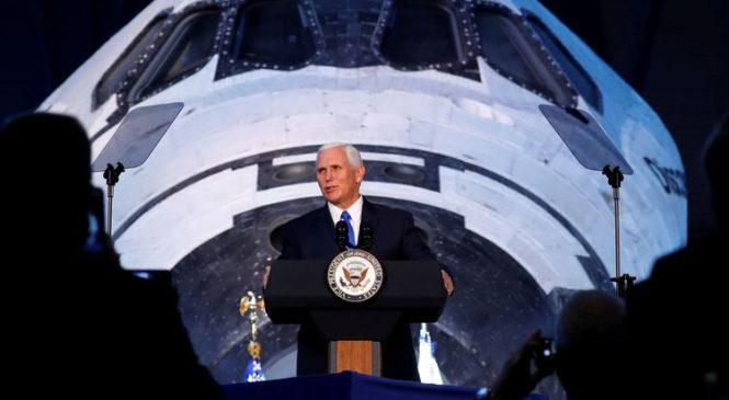 'Our destiny': Trump creates US space force
