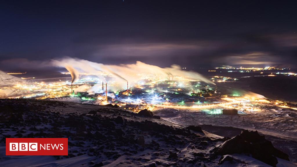 Sentinel satellite exposes sulphur dioxide pollution