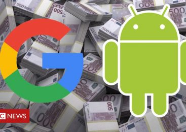 Google hit with 4.3bn euro Android fine from EU